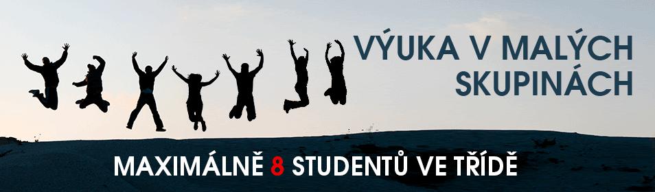 Maximum 8 studentů ve skupinách